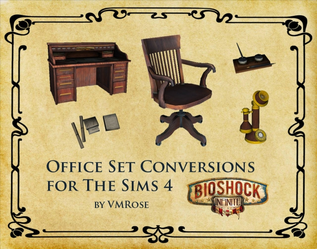 BioShock Infinite Office Conversion by Rose