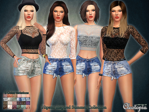 Set33- Hipster Inspired Summer Collection by Cleotopia