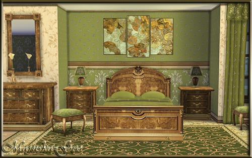 Vintage Bedroom Set by MaruskaGeo