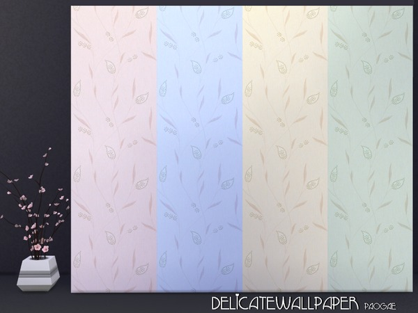 DelicateWallpaper by Paogae