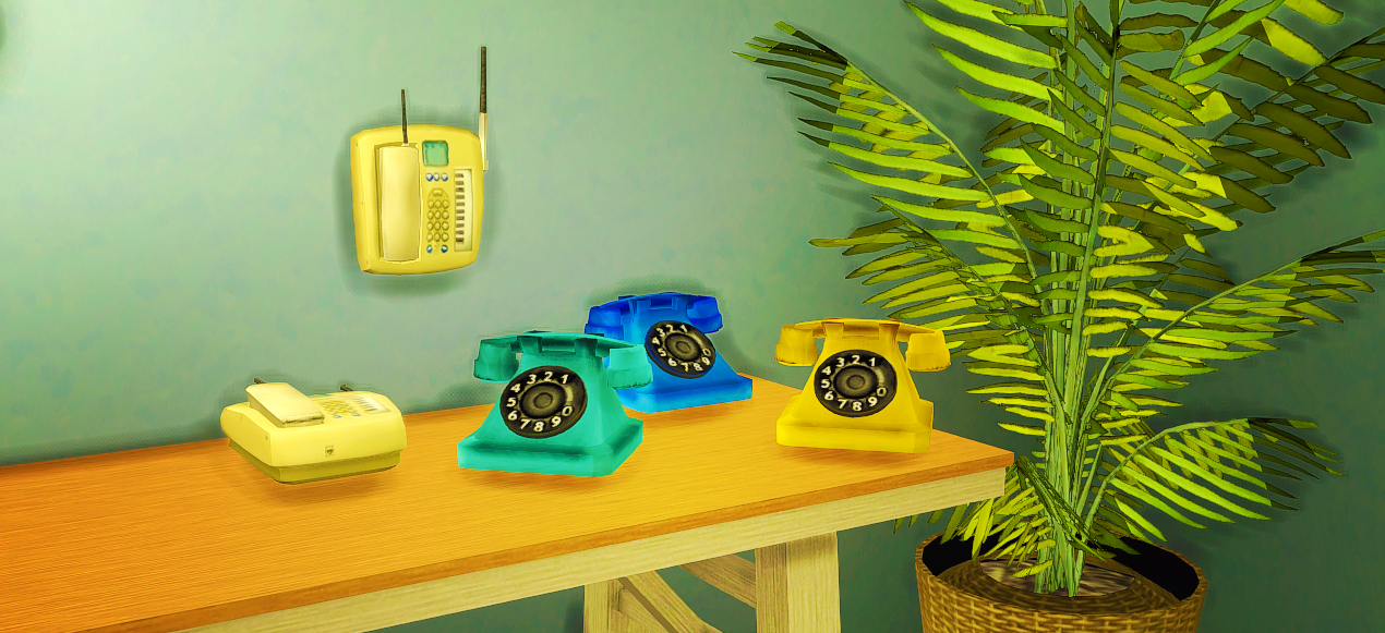 The Sims 2 Phones Conversion by Dockamorpher