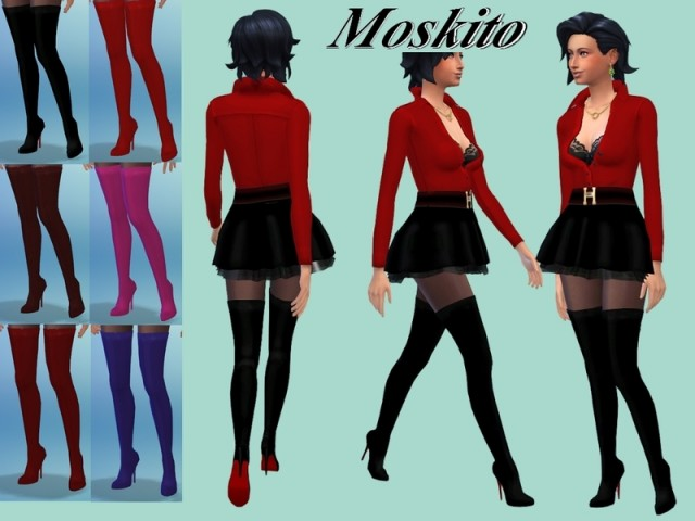 High boots 015 by Moskito