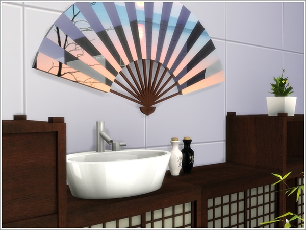 Asian bathroom by Severinka