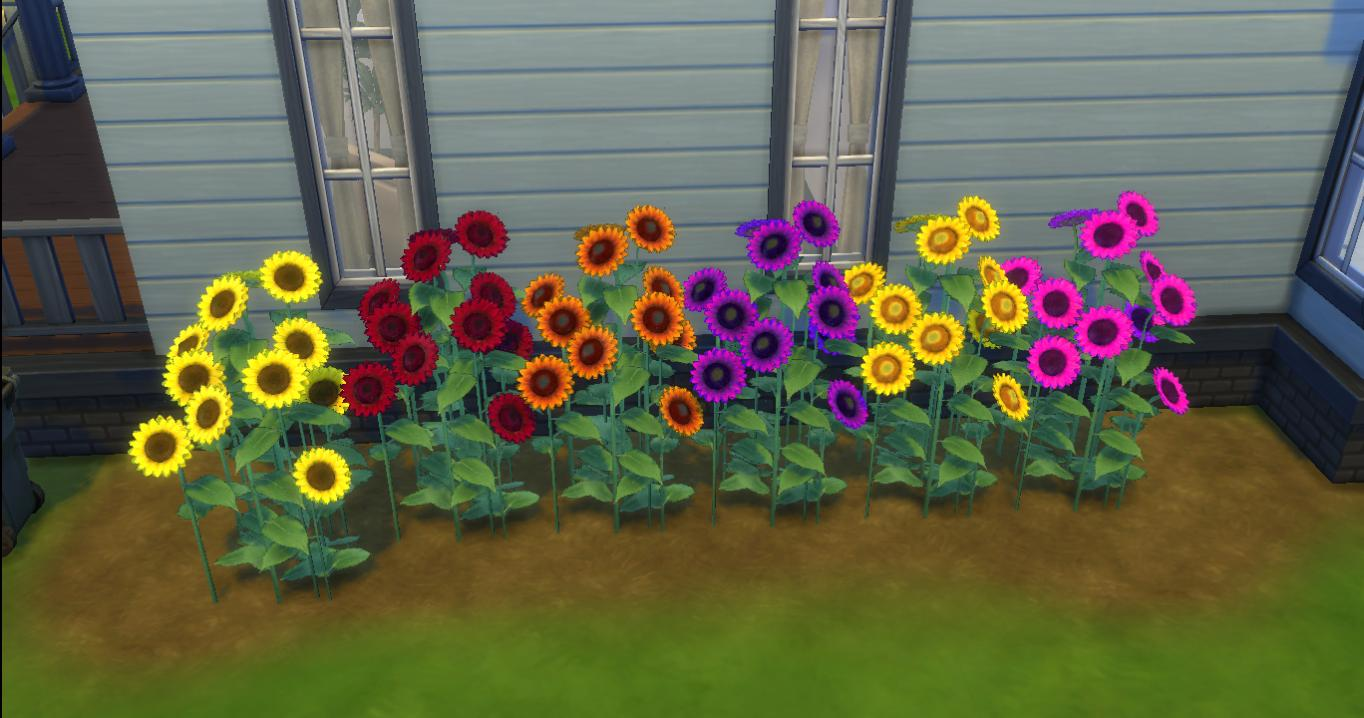 TS2 Sunflowery Shrubbery by AdonisPluto