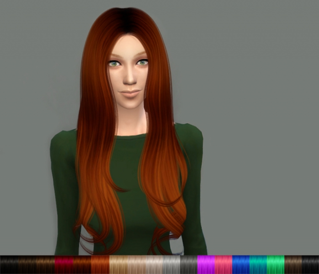 Alesso 60s Hair Retexture by DeliriumSims