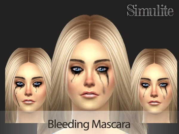 Bleeding Mascara by SimuliteSim
