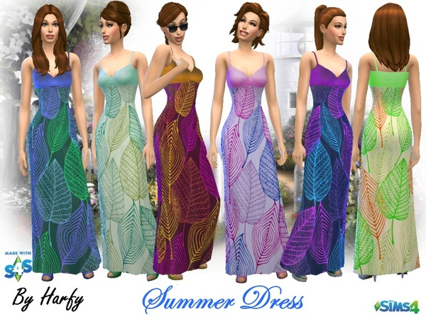 Summer Dress by Harfy