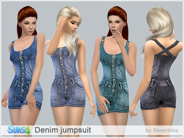 Denim jumpsuit by Severinka