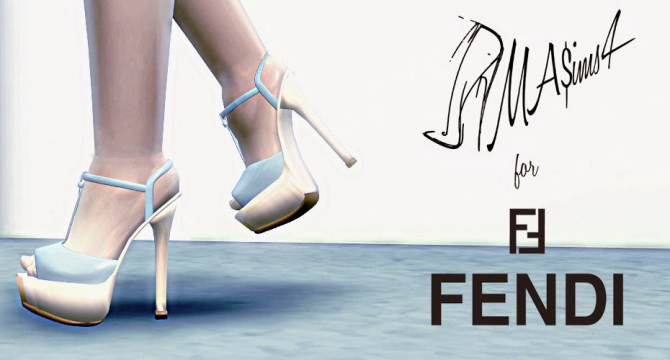 Fendi The Fendista Platform Pumps by MrAntonieddu
