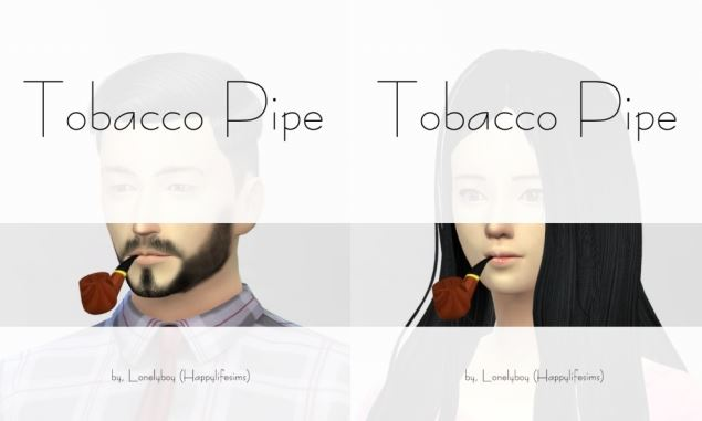 TS4 Tobacco Pipe by Lonelyboy