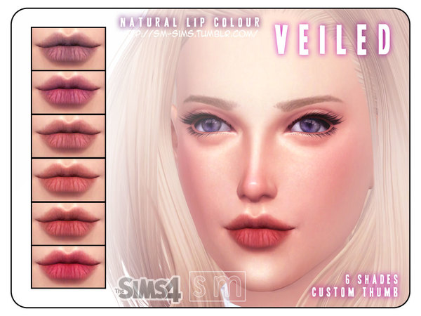 [ Veiled ] - Natural Lips for Men and Women by Screaming Mustard