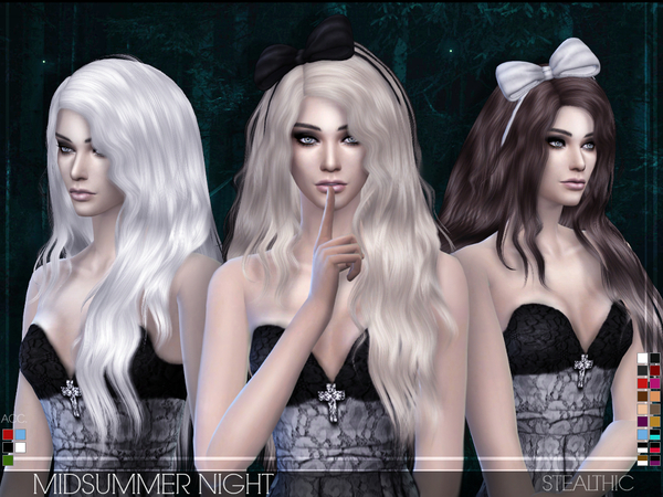 Stealthic - Midsummer Night (Female Hair & Acc.)