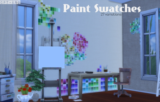 Paint Swatches by CptKrolar
