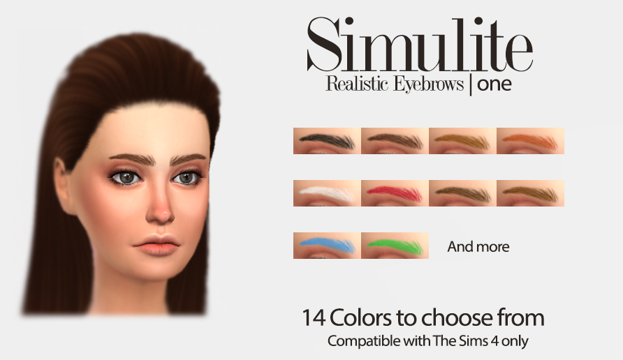 Eyebrows One by Simulite