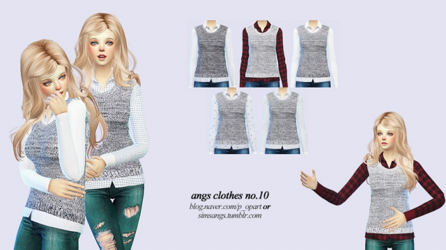 Clothes no.10_Female by Angs