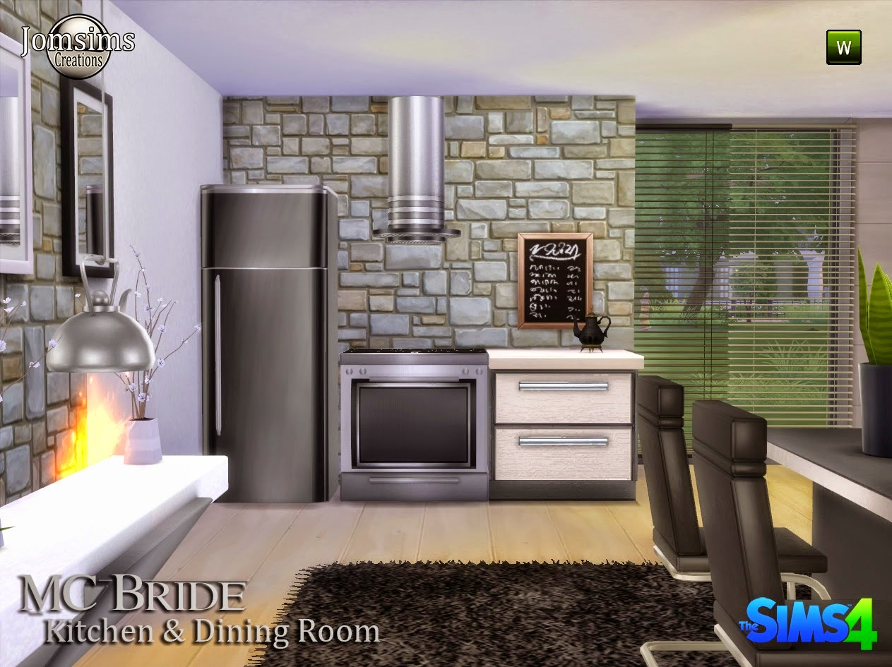Mc Bride Kitchen & Dining Set by JomSims