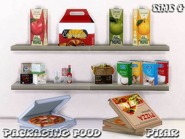 Packaging Food by Pilar