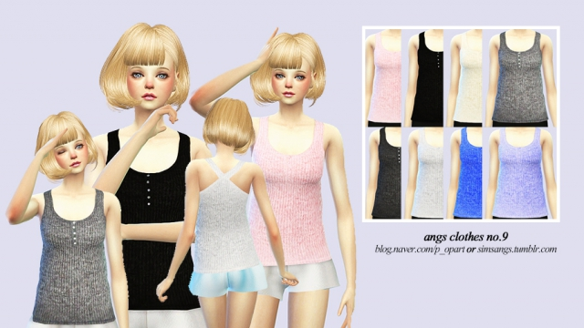 Clothes no.9_Female by Angs