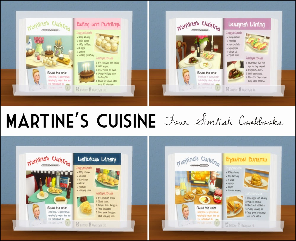 Martine's Cuisine Cookbooks