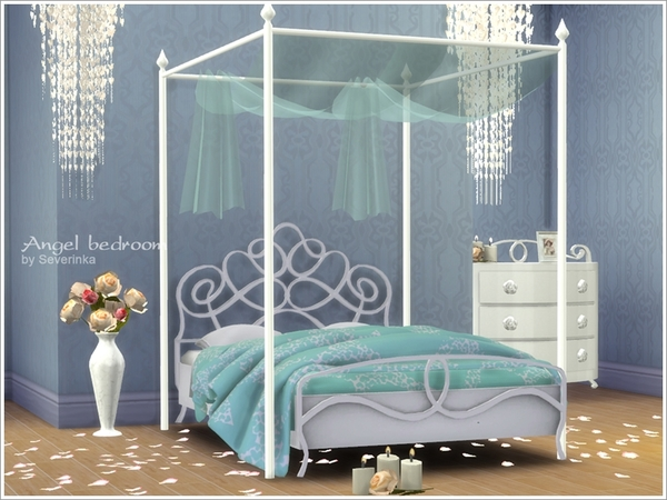 Romantic bedroom Angel by Severinka
