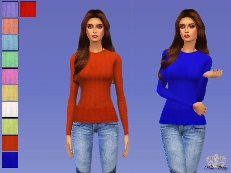 Sweaters for Teen - Elder Females by Niteskkysims