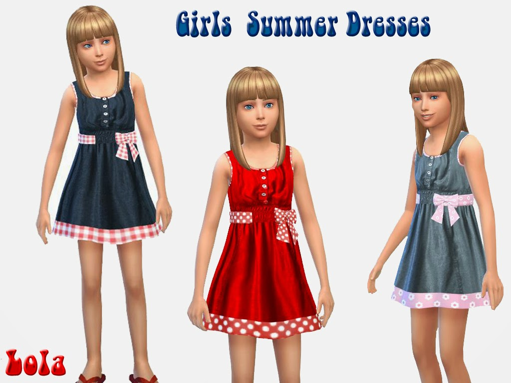 Dress for Girls by Lola