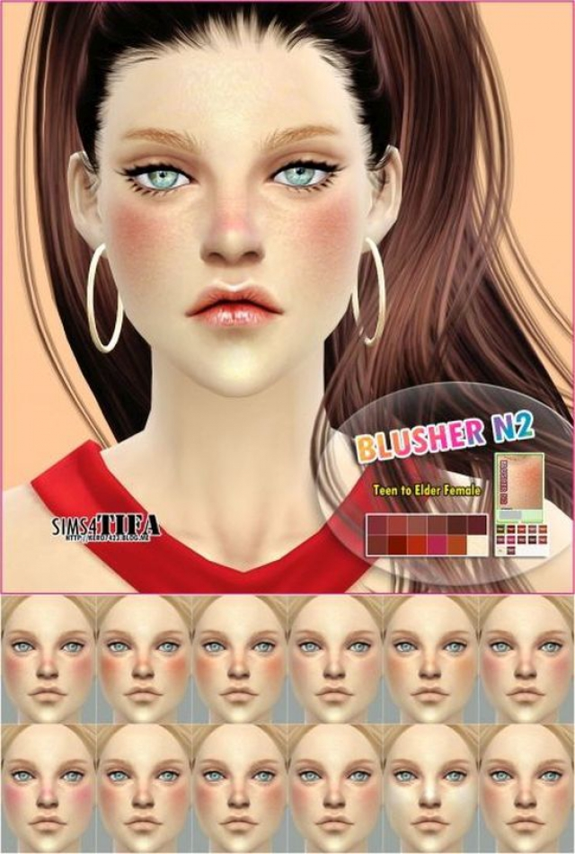 Blush N2 for Males & Females by Tifa