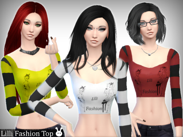 Lilli Fashion Top by XxNikkibooxX