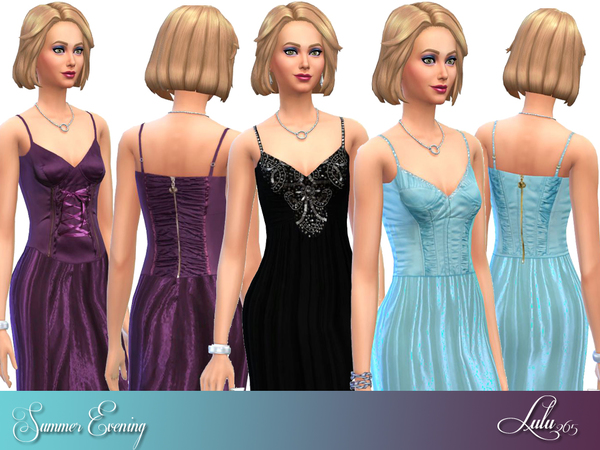 Summer Evening Wear by Lulu265