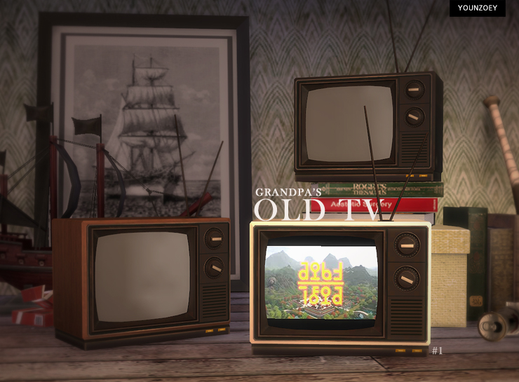 Grandpa's Old TV by YoungZoey