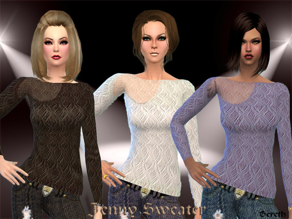 Crochet Sweater by Bereth