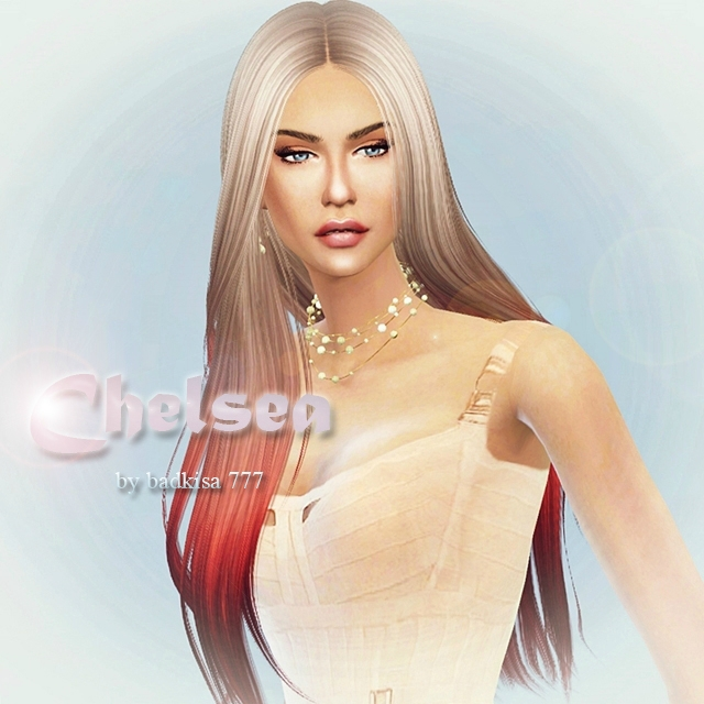 Челси / Chealsea sim by badkisa777 for TS4