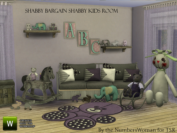 Shabby Bargain Shabby Chic Kids by TheNumbersWoman