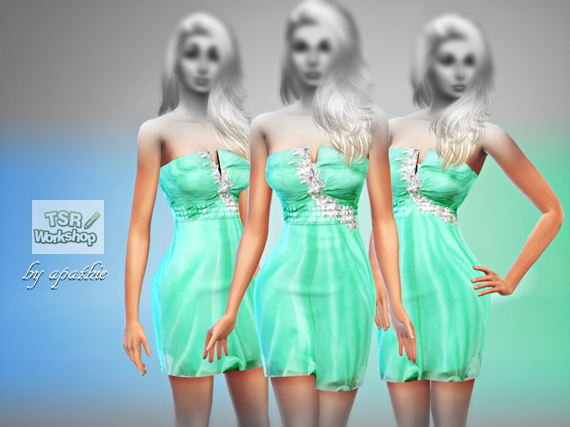 Mint El Dress BY Apathie