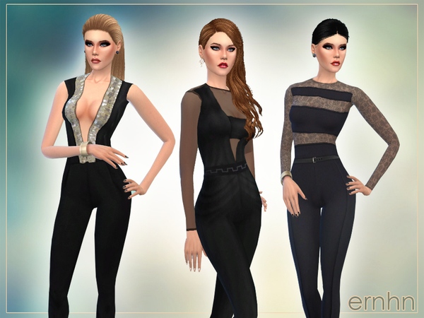 Spring Jumpsuits Set by ernhn