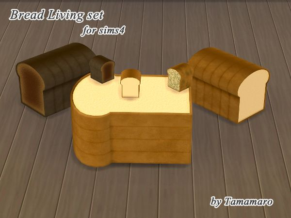 Bread Living set by Tamamaro