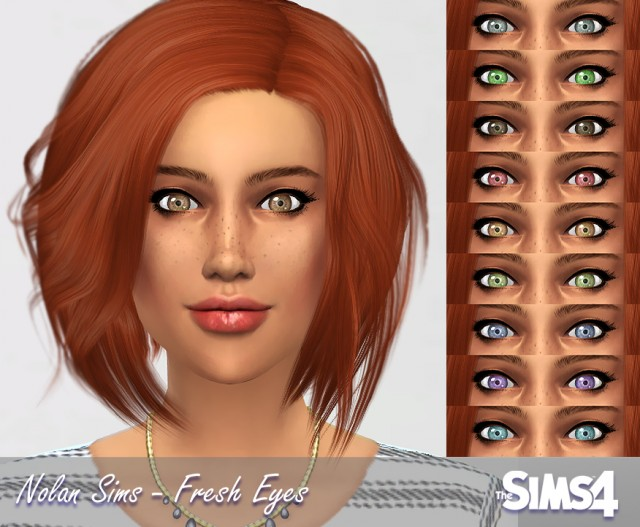 Fresh Eyes Non-Default by Nolan Sims