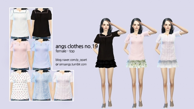Clothes no.19_Female_Top by Angs