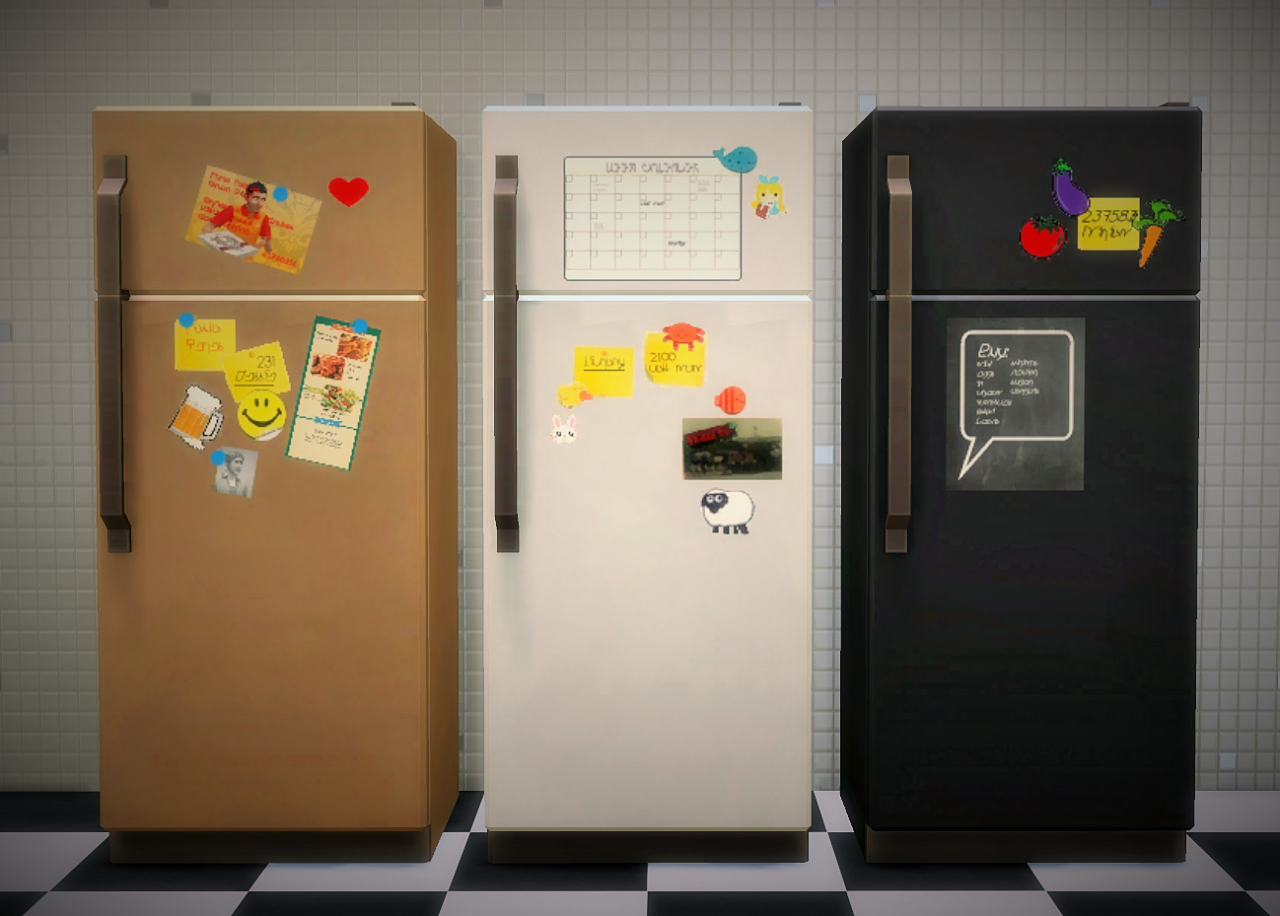 The Sticker Fridge Collection by Budgie2Budgie