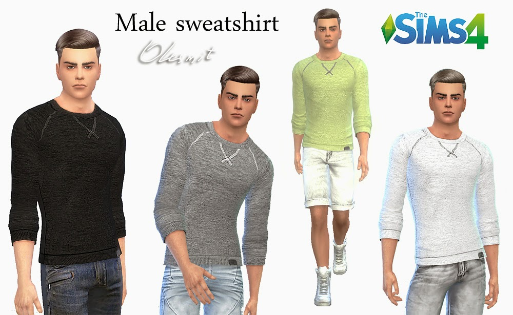 Male sweatshirt by OleSims