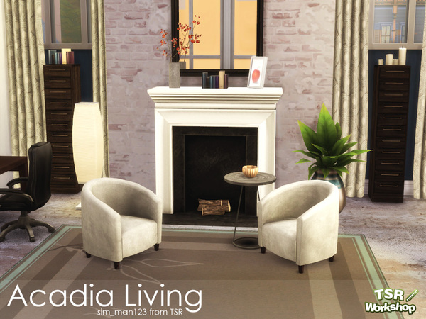 Acadia Living Room by sim_man123