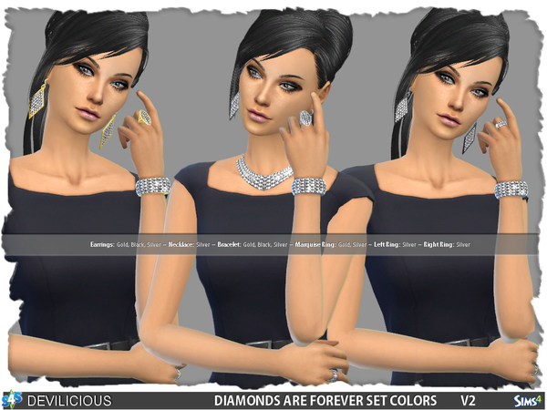 Diamonds Are Forever V2 Set by Devilicious