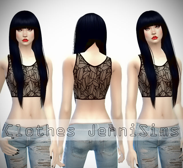 Sets of clothes for the Sims 4 Danger Zone by JenniSims