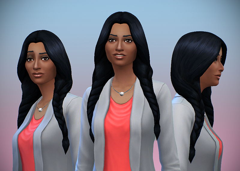 Long Braids Hair for Females by DelcoWebney