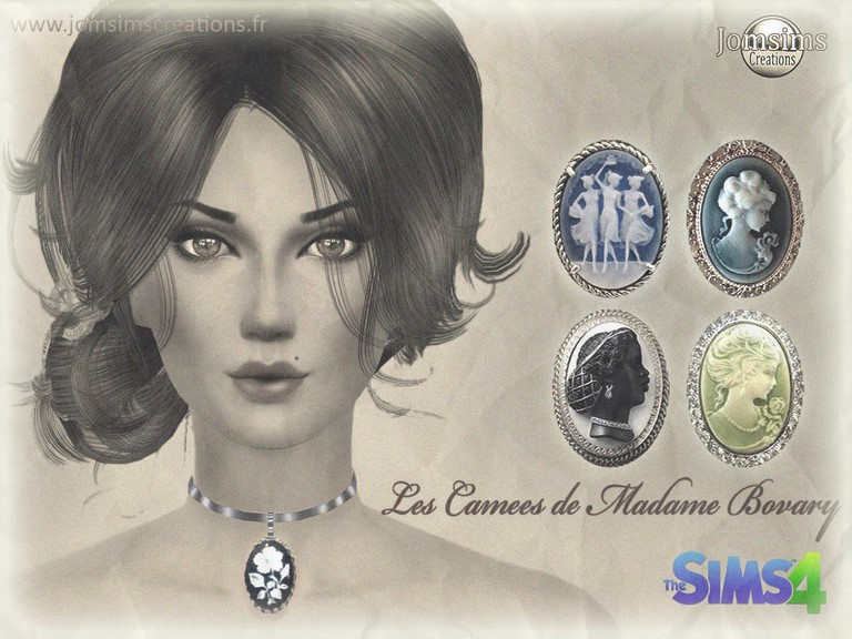 bijoux sims 4 les cames de madame bovary by JomSims