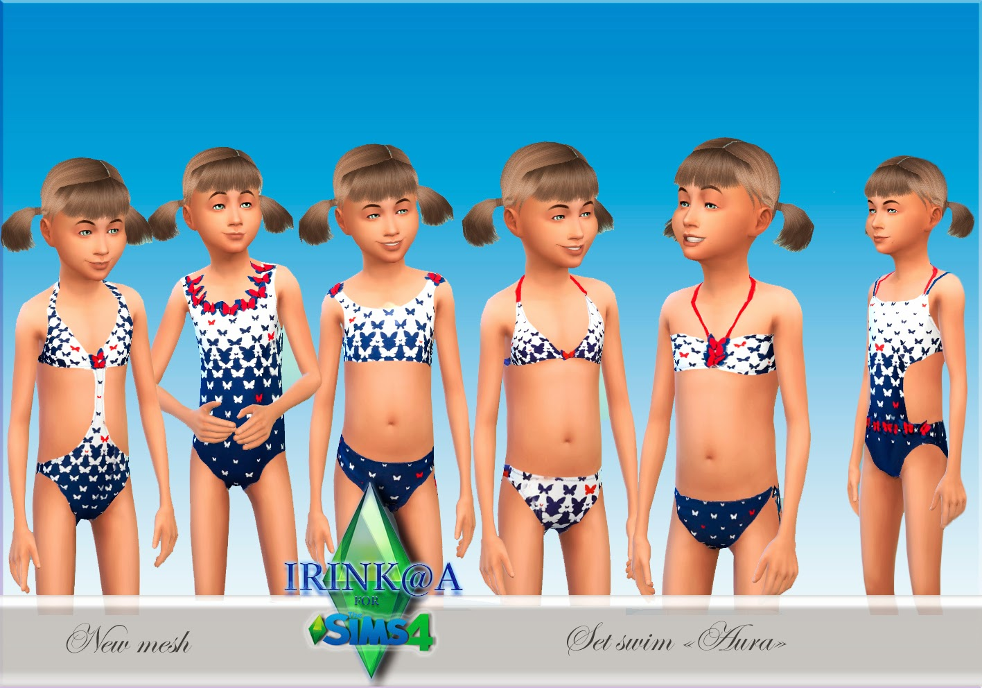 Swimwears for Girls by Irink@a