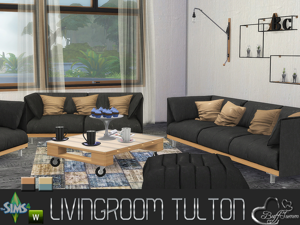 Livingroom Tulton (Main Set) by BuffSumm