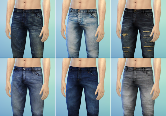 Jeans for Males & Females by Rusty Nail