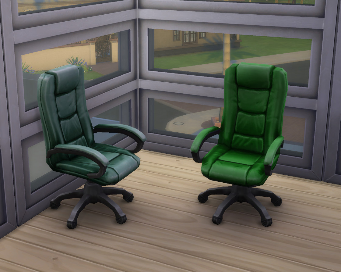 Recoloured Boss Executive Desk Chairs by clairkp