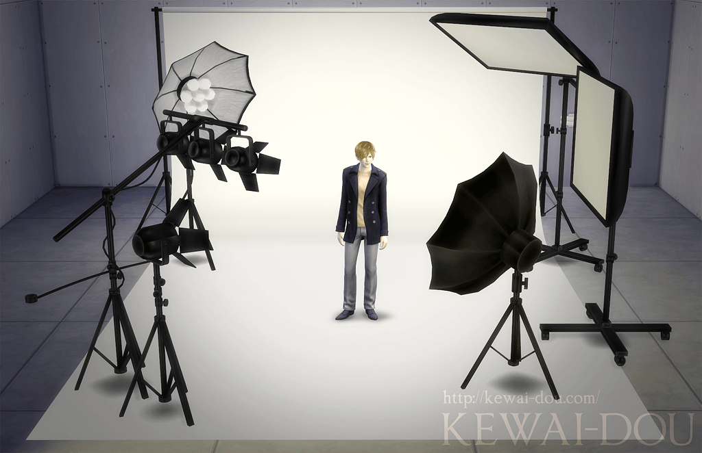 Photo studio set by KEWAI-DOU